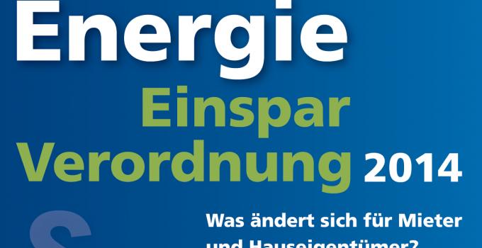 Jenaer EnergieGespräche: EnEV 2014 - Was ändert sich für Mieter und Hauseigentümer